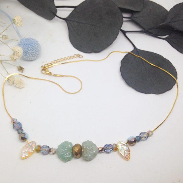 Forêt bleue (collier)