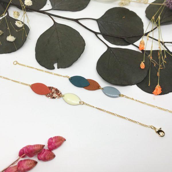 Bracelet vagues 2 coloris