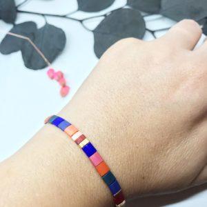 Bracelet Colorama porté