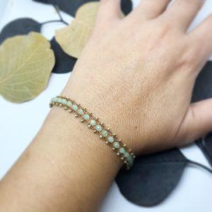 Bracelet Ondine porté