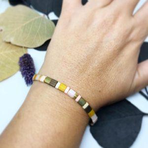 Bracelet Tila automne porté