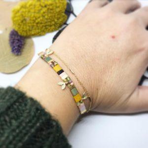 Bracelet Tourbillon porté