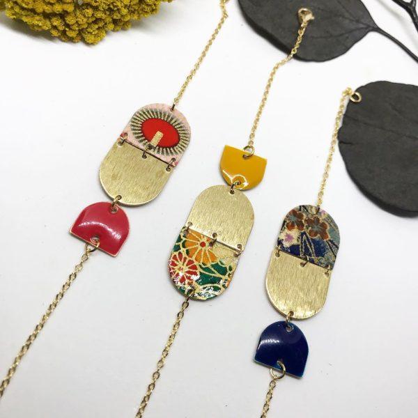 Bracelets kimonos choix 1